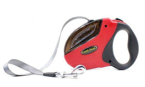 Pet Retractable Leash-Red