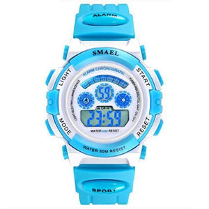 Assic.Myshop Watches Blue Digital Outdoor Quality [watches] smael LCD digital 6749220-blue-digital