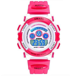 Assic.Myshop Watches Pink Digital 1 Outdoor Quality [watches] smael LCD digital 6749220-pink-digital-1