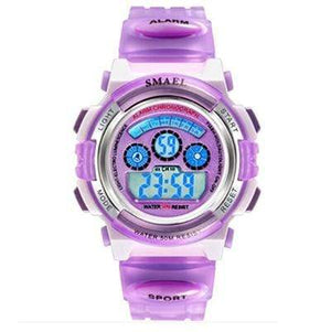 Assic.Myshop Watches Purple Digital Outdoor Quality [watches] smael LCD digital 6749220-purple-digital