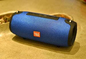 Assic.Myshop Wireless speakers 125 blue TG118 40W bluetooth high power Portable [subwoofer] speakers. 29129540-125-blue