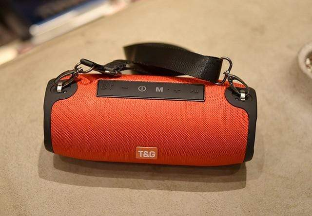 Assic.Myshop Wireless speakers 125 red TG118 40W bluetooth high power Portable [subwoofer] speakers. 29129540-125-red
