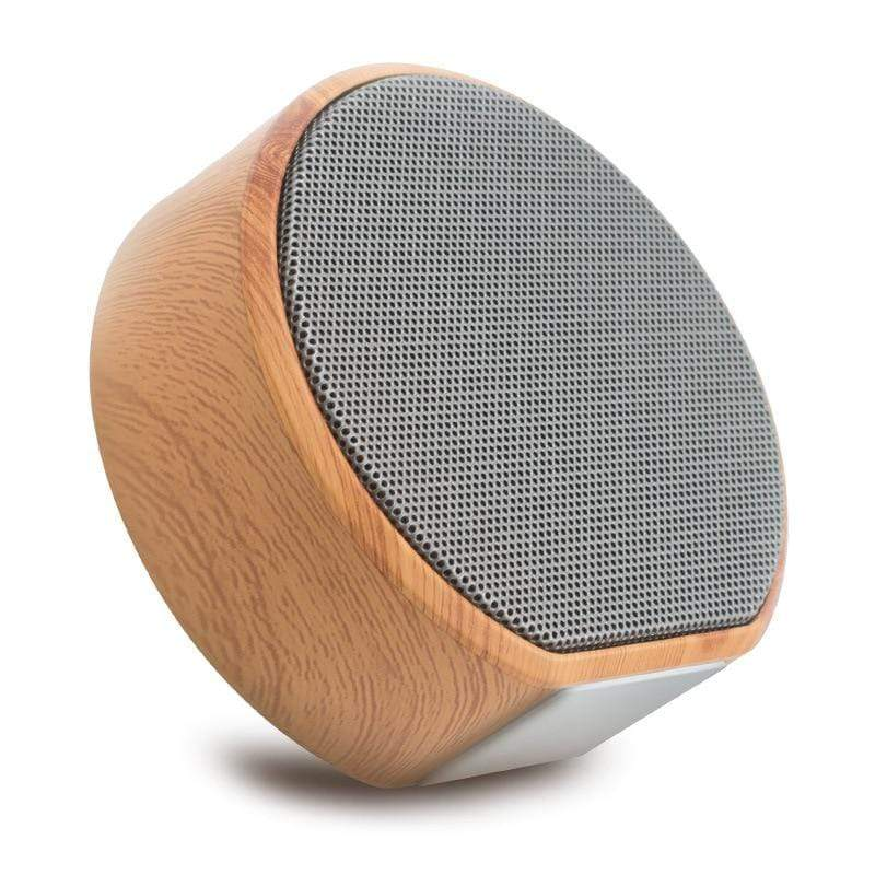 Assic.Myshop Wireless speakers Wood grain wireless bluetooth mini Portable [subwoofer] speakers.