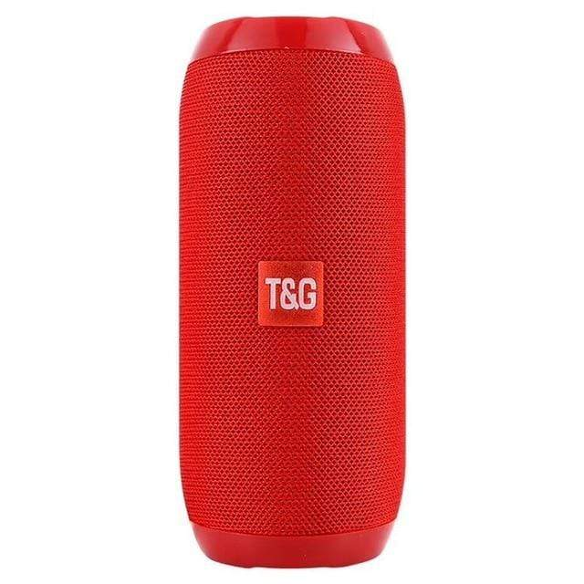 Bluetooth portable outdoor rechargeable wireless subwoofer speakers-Red