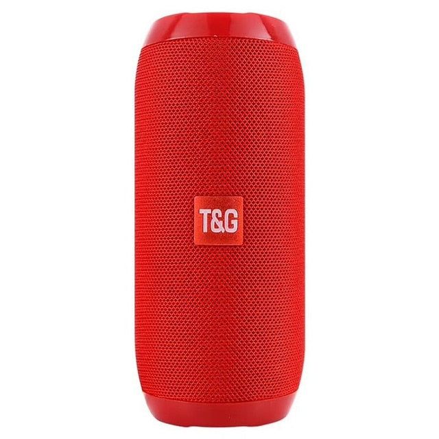 Rechargeable Wireless Speakers-Red