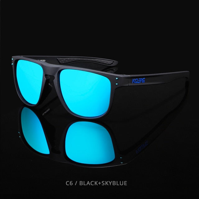 KDEAM HD TR90  Polarized Sunglasses-turquoise