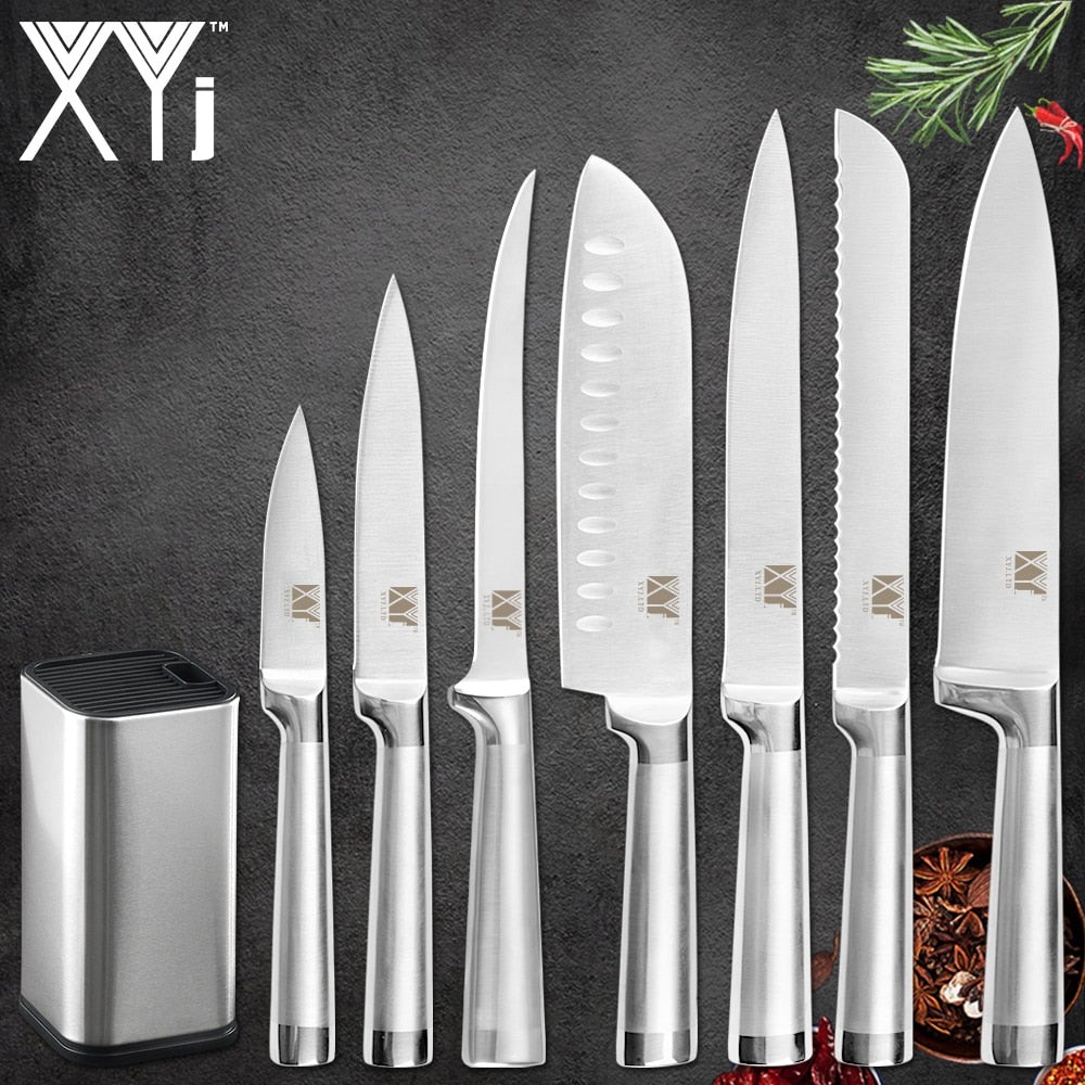 Kitchen Stainless Stee|^ Knives set
