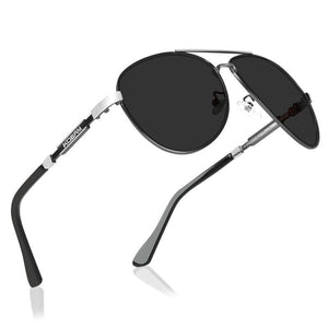 KDEAM Polarized Sunglasses Men/Women Pilot-black