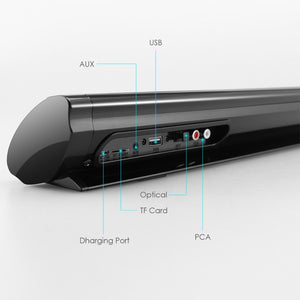 Bluetooth 5.0 FM Soundbar Wireless Speaker