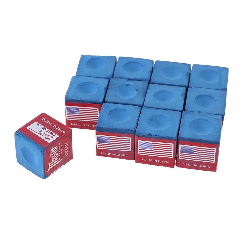 12 Pieces Billiard Chalk