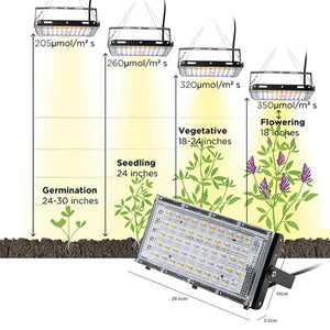 800W Phyto Lamp Full Spectrum LED Grow Light