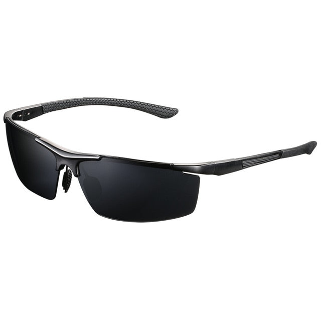 Men|^| Polarized Sunglasses-frame black