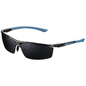 Men|^| Polarized Sunglasses-frame blue