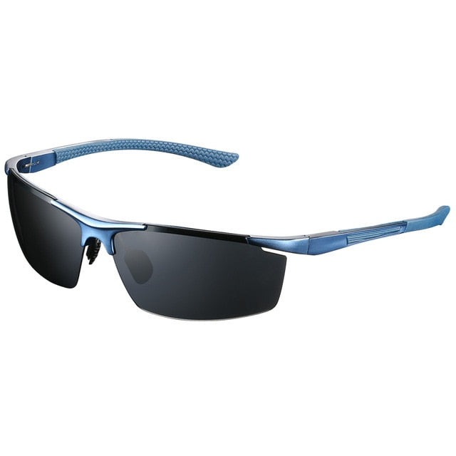 Men|^| Polarized Sunglasses- light blue