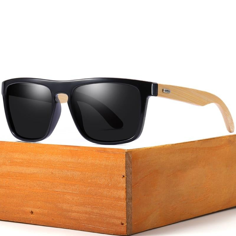 men|^|women Polarized Sunglasses-flat black