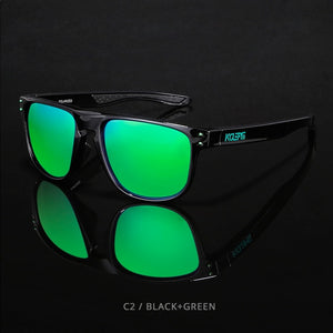 KDEAM HD TR90  Polarized Sunglasses-ocean green