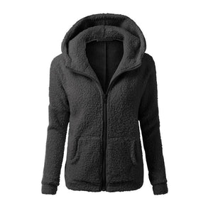 Women Fleece Jacket Streetwear product-image-949147522.jpg