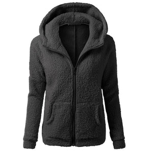 Women Fleece Jacket Streetwear product-image-949147534.jpg