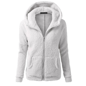 Women Fleece Jacket Streetwear product-image-949147536.jpg