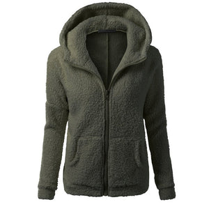 Women Fleece Jacket Streetwear product-image-949147540.jpg