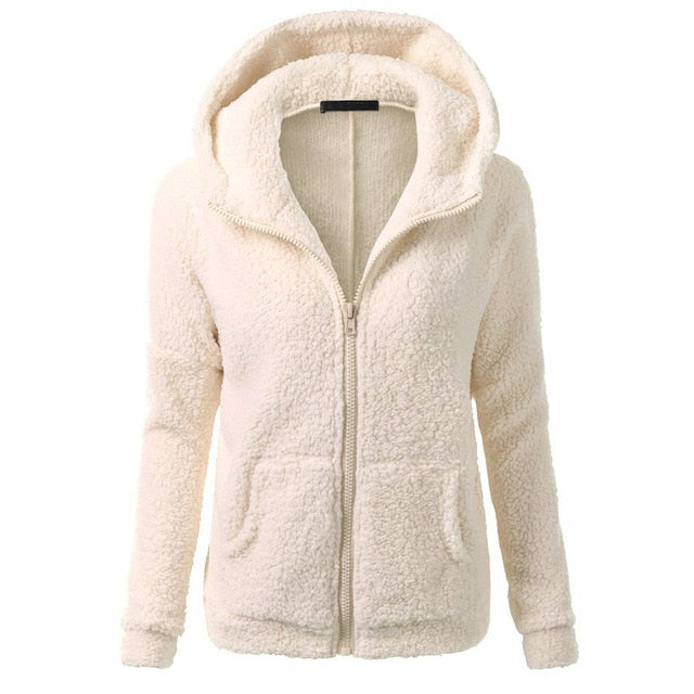 Women Fleece Jacket Streetwear product-image-949147542.jpg