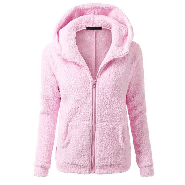 Women Fleece Jacket Streetwear product-image-949147544.jpg