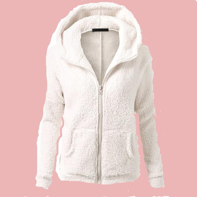 Women Fleece Jacket Streetwear product-image-949147546.jpg