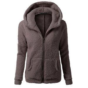 Women Fleece Jacket Streetwear product-image-949147548.jpg