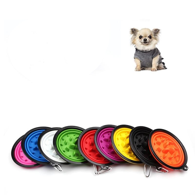 Pet Slow Feeder Bowl 2in1 Water Food-All The Colours
