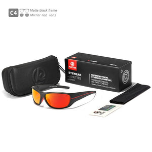 KDEAM Ultra-high Anti-scatch-sunglasses-orange
