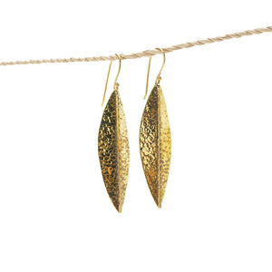 Load image into Gallery viewer, Earring Boho Leaf