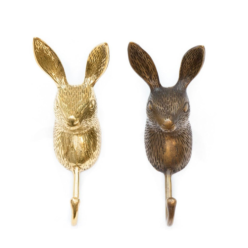 Hook Brass Rabbit