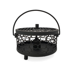 Load image into Gallery viewer, Mosquito coil holder box black side view 1