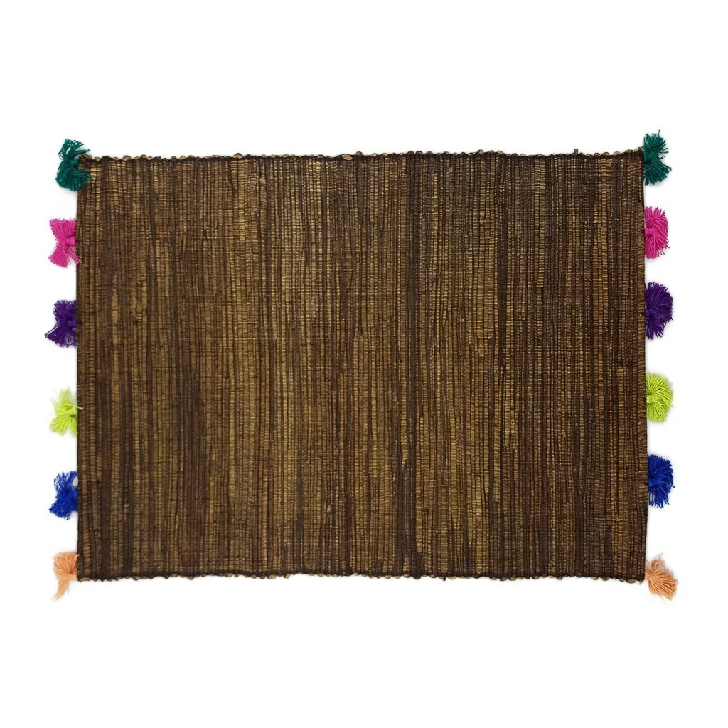 Placemat Tassel Brown