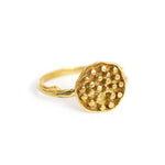 Ring Lotus Seeds Gold