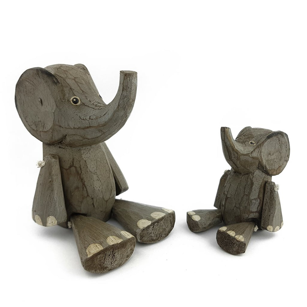 Wooden Animal Elephant