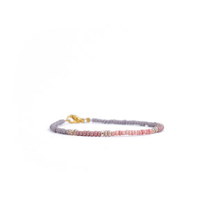 Load image into Gallery viewer, bracelet colorful beads pink