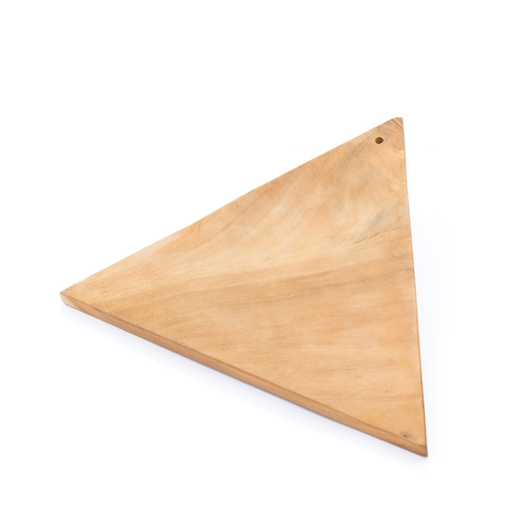 Wooden Cutting Board Triangle