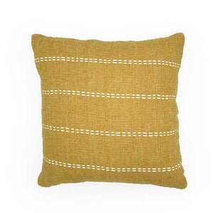 Load image into Gallery viewer, Cotton Cushions Embroidery Lime Green