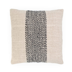 Load image into Gallery viewer, white embroidery cotton pillow stripe