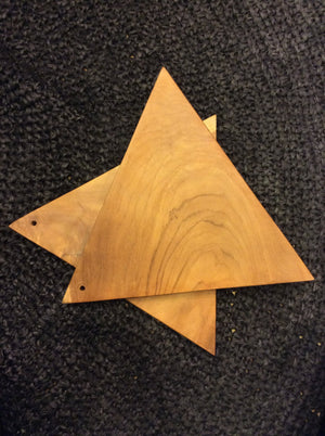 Load image into Gallery viewer, Wooden Cutting Board Triangle