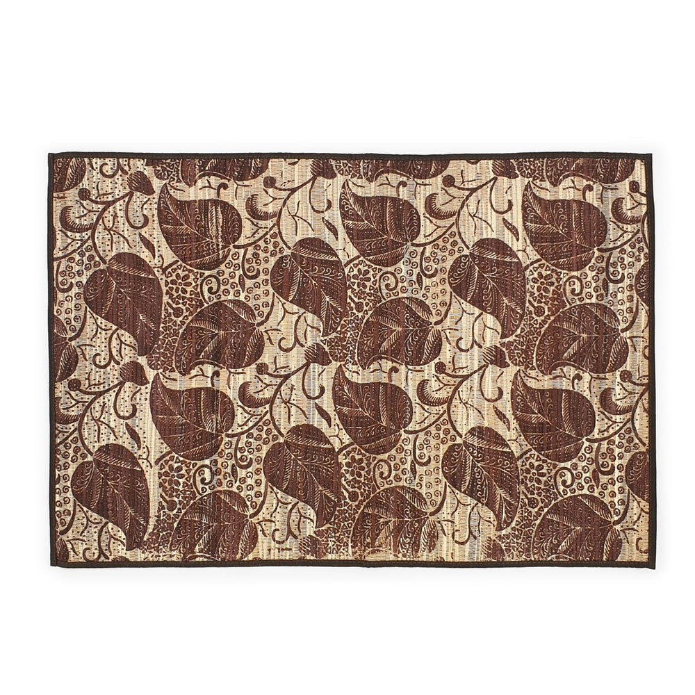 Load image into Gallery viewer, placemat natural leaf batik