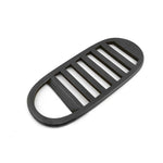 Bottle Opener Brass Black Stripe