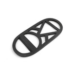 Bottle Opener Brass Black Triangle Circle