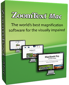 Image of ZoomText Mac Product Box