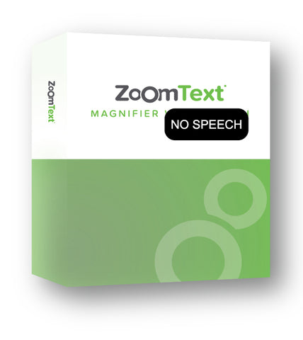 ZoomText Magnifier Product Box