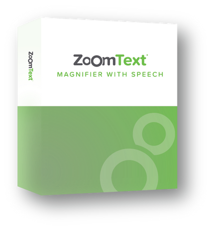 ZoomText Magnifier with Speech Product Box