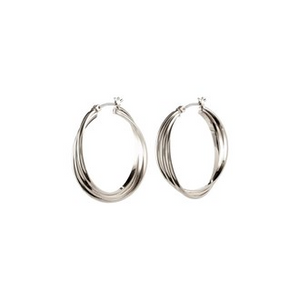 JEMIMA PI EARRINGS - SILVER + GOLD