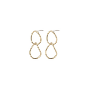 NIKA EARRINGS - GOLD