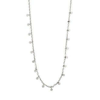 PANNA NECKLACE- SILVER